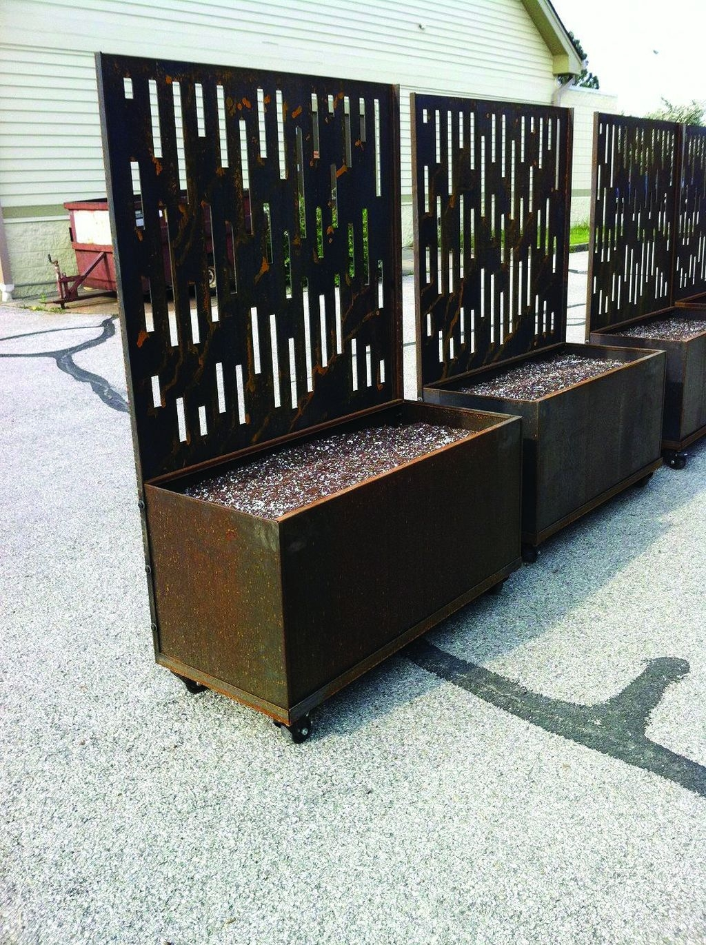 Pretty Privacy Fence Planter Boxes Ideas To Try29