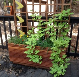 Pretty Privacy Fence Planter Boxes Ideas To Try35