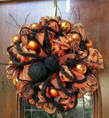 Stunning Diy Halloween Wreaths Design Ideas That Looks Cool01
