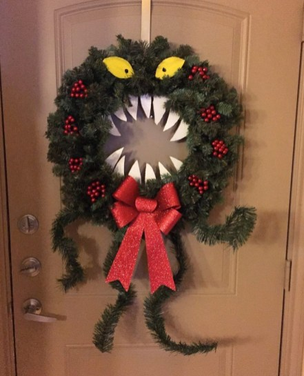 Stunning Diy Halloween Wreaths Design Ideas That Looks Cool14