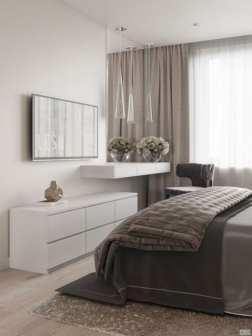 Stylish Bedroom Design Ideas For You To Apply In Your Home34