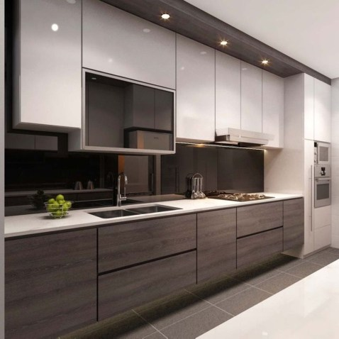 Unordinary Kitchen Colors Design Ideas That Looks Cool23