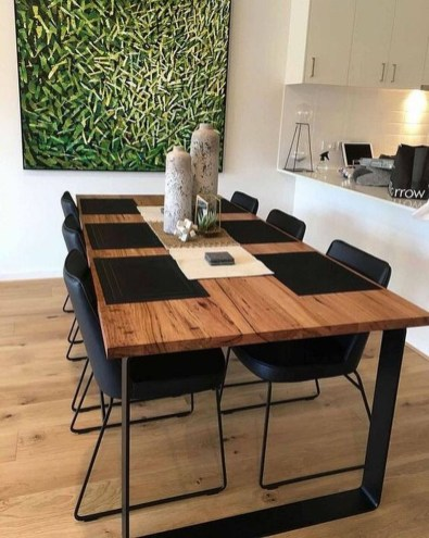 Wonderful Contemporary Dining Room Decorating Ideas To Try01