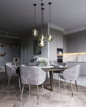 Wonderful Contemporary Dining Room Decorating Ideas To Try05