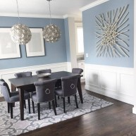 Wonderful Contemporary Dining Room Decorating Ideas To Try07