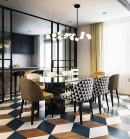 Wonderful Contemporary Dining Room Decorating Ideas To Try21