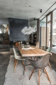 Wonderful Contemporary Dining Room Decorating Ideas To Try32