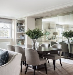 Wonderful Contemporary Dining Room Decorating Ideas To Try40