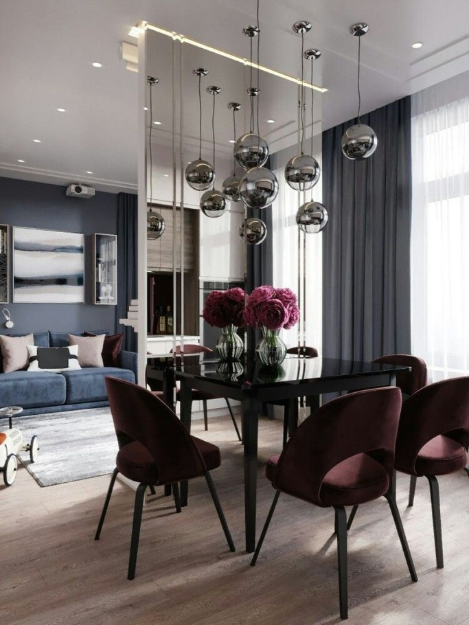 Wonderful Contemporary Dining Room Decorating Ideas To Try41