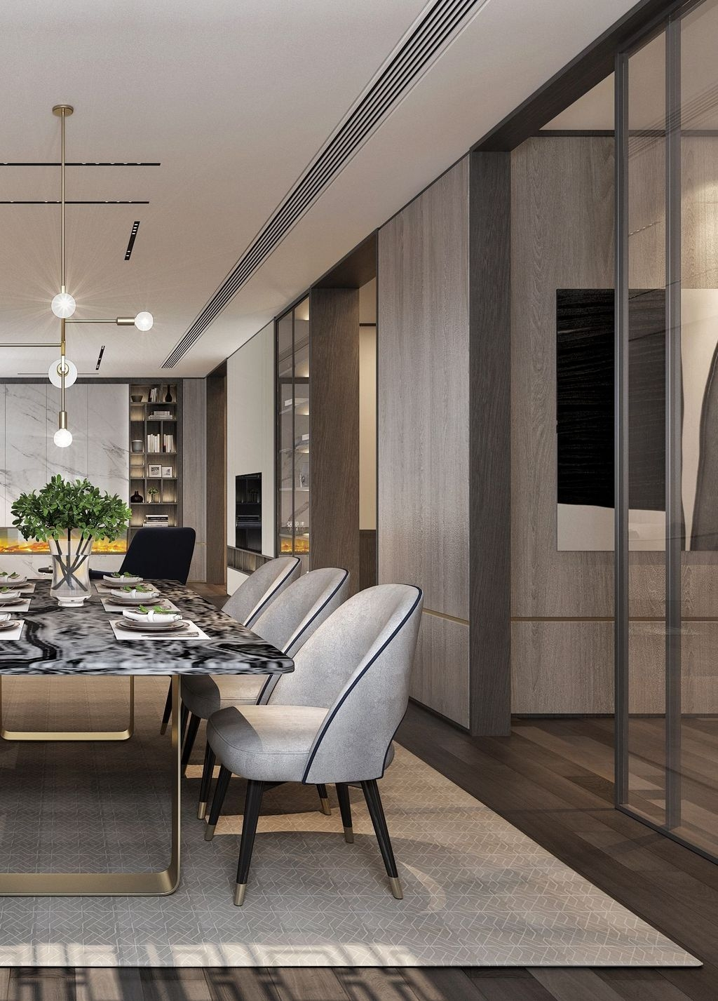 Wonderful Contemporary Dining Room Decorating Ideas To Try42