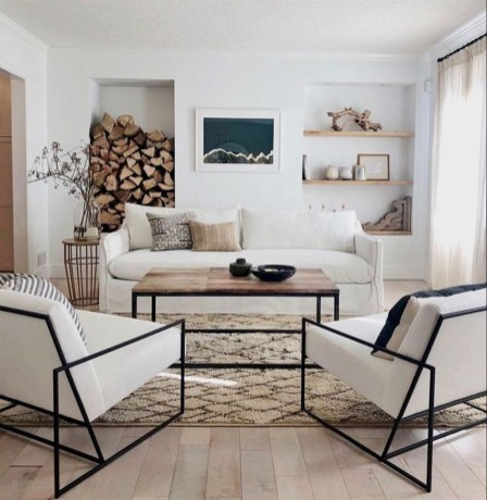 Wonderful Neutral Living Room Design Ideas To Try16