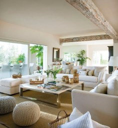Wonderful Neutral Living Room Design Ideas To Try34