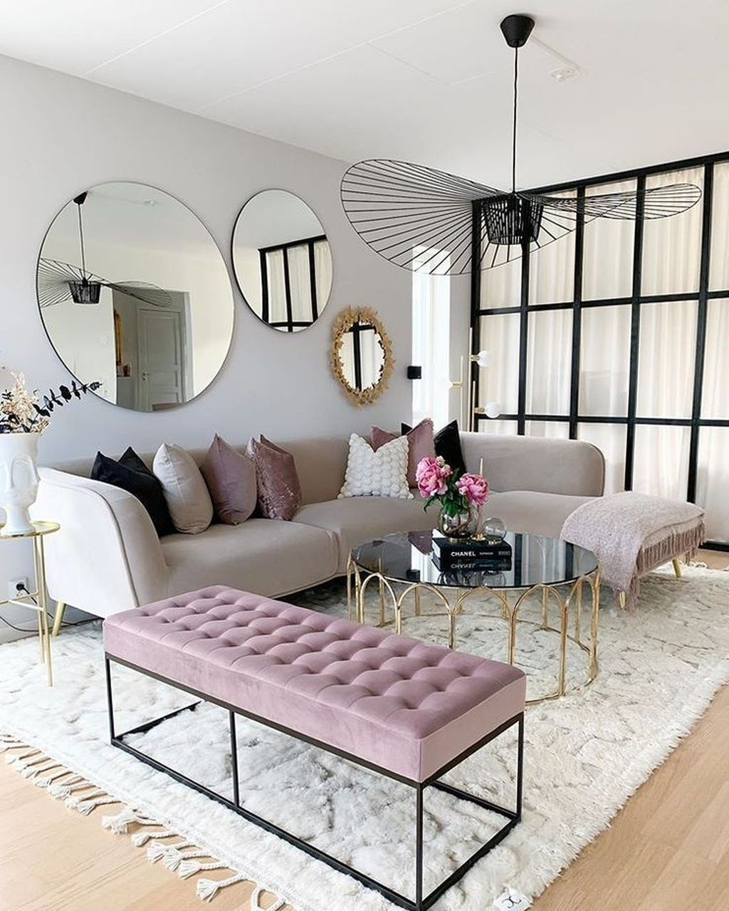 Awesome Living Room Mirrors Design Ideas That Will Admire You05