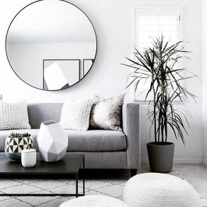 Awesome Living Room Mirrors Design Ideas That Will Admire You24
