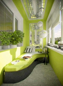 Brilliant Closed Balcony Design Ideas To Enjoy In All Weather Conditions08