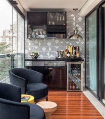 Brilliant Closed Balcony Design Ideas To Enjoy In All Weather Conditions35