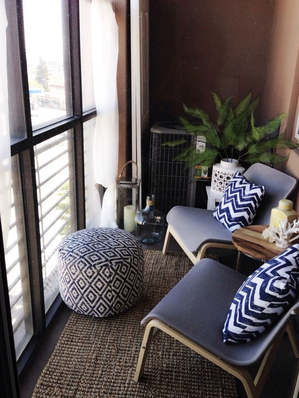 Brilliant Closed Balcony Design Ideas To Enjoy In All Weather Conditions36