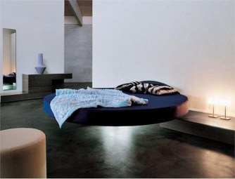 Casual Contemporary Floating Bed Design Ideas For You05