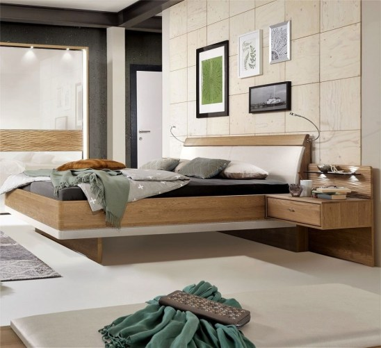 Casual Contemporary Floating Bed Design Ideas For You18