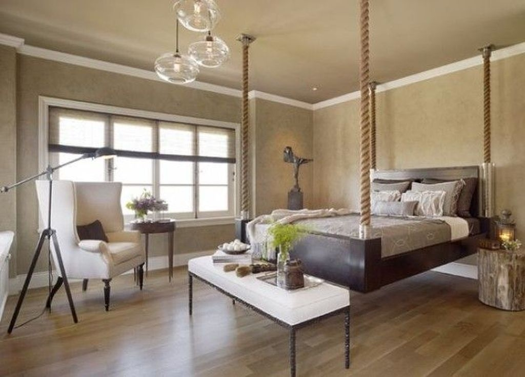 Casual Contemporary Floating Bed Design Ideas For You42