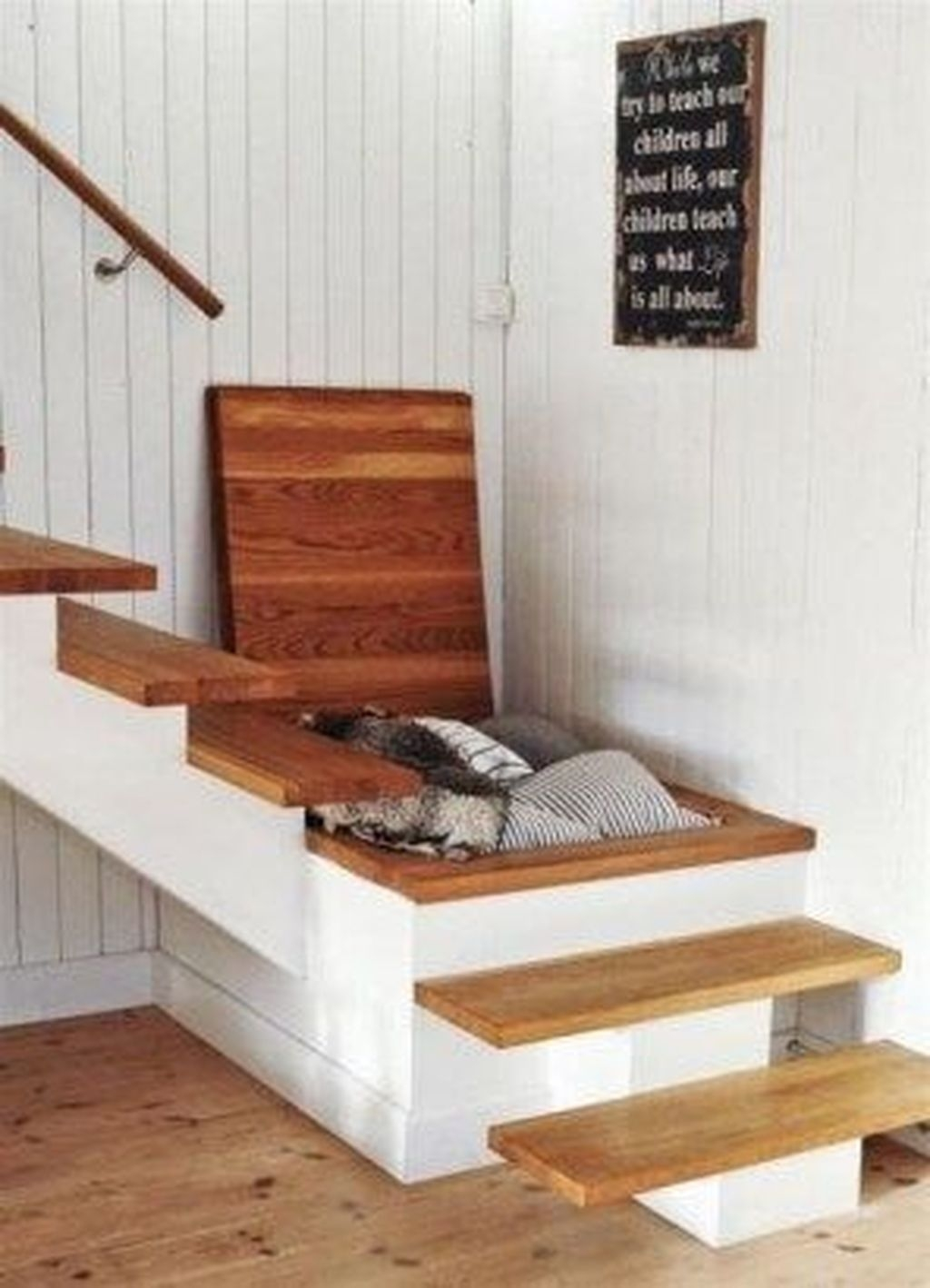 Catchy Remodel Storage Stairs Design Ideas To Try24