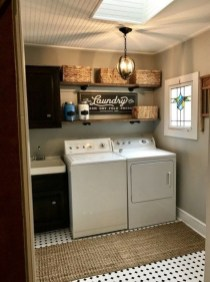 Charming Small Laundry Room Design Ideas For You22