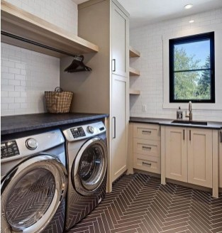 Charming Small Laundry Room Design Ideas For You36