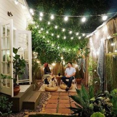 Chic Small Courtyard Garden Design Ideas For You04