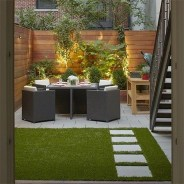Chic Small Courtyard Garden Design Ideas For You26