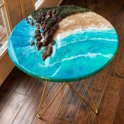 Classy Resin Wood Table Ideas For Your Furniture02