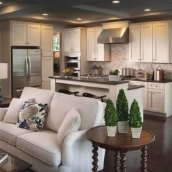 Extraordinary Big Open Kitchen Ideas For Your Home33