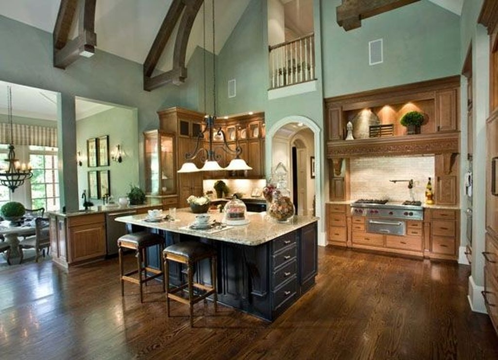 Extraordinary Big Open Kitchen Ideas For Your Home44