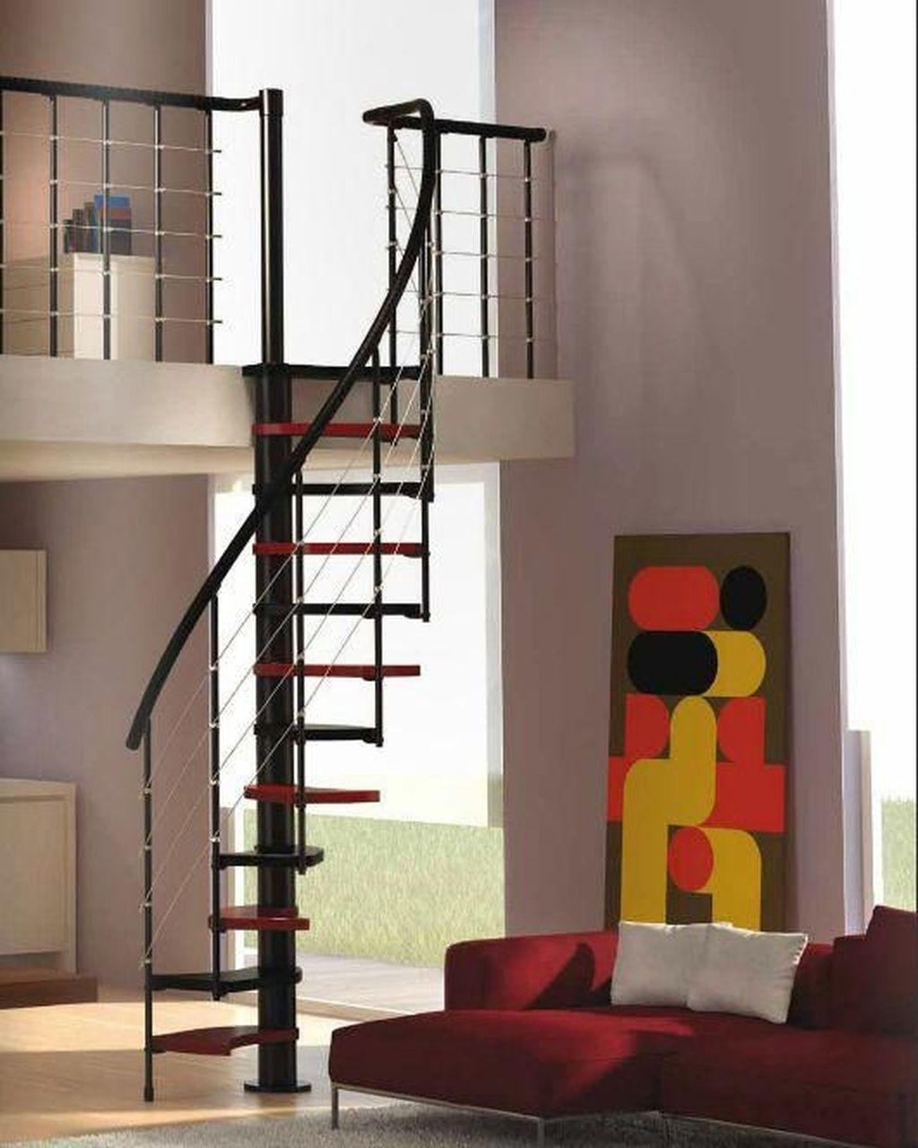 Incredible Stairs Design Ideas For The Attic To Try07