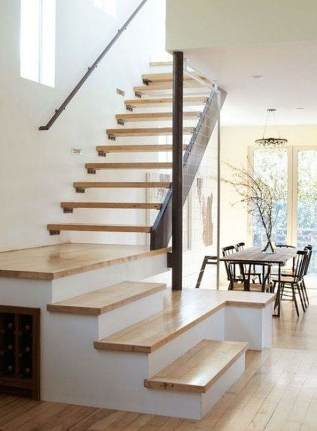Incredible Stairs Design Ideas For The Attic To Try13