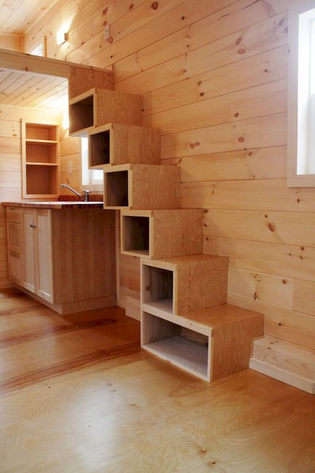 Incredible Stairs Design Ideas For The Attic To Try22