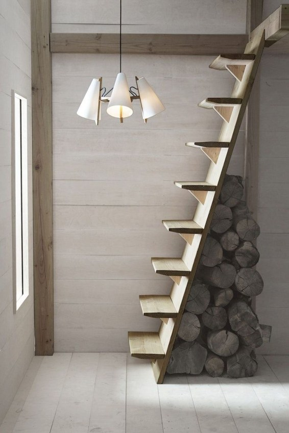 Incredible Stairs Design Ideas For The Attic To Try40