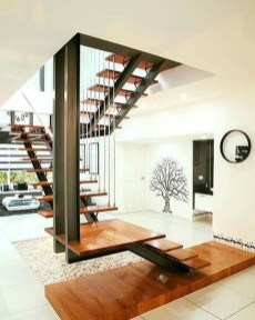 Incredible Stairs Design Ideas For The Attic To Try43