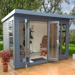Incredible Studio Shed Designs Ideas For Your Backyard17