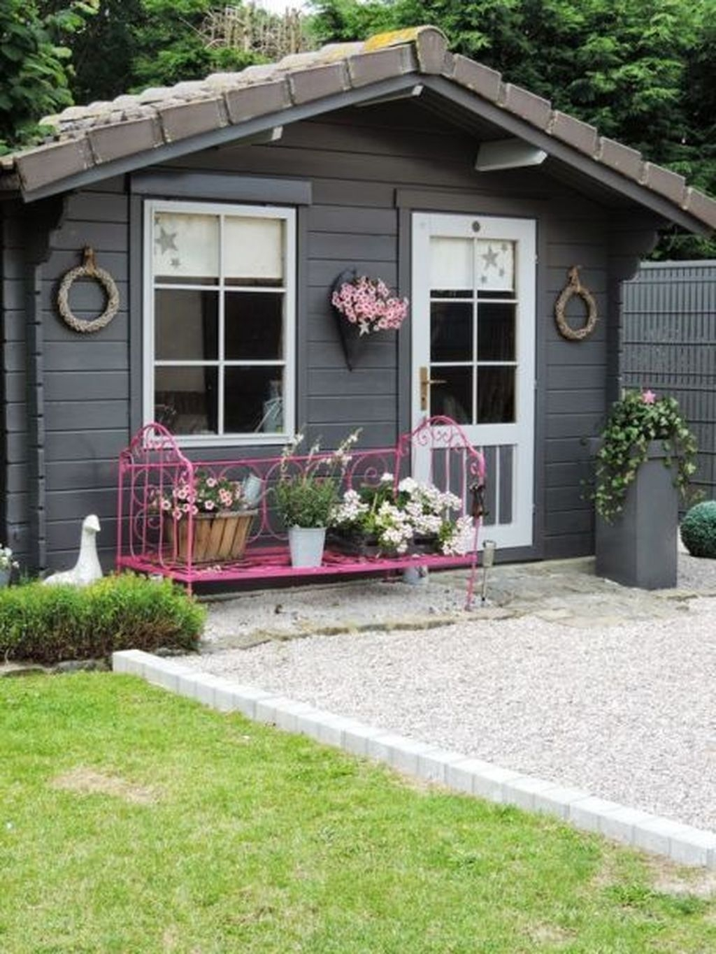 Incredible Studio Shed Designs Ideas For Your Backyard25