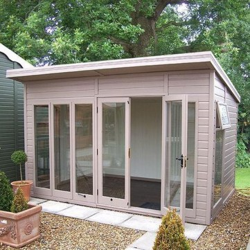 Incredible Studio Shed Designs Ideas For Your Backyard26