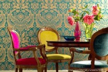 Stunning Dining Room Design Ideas With Multicolored Chairs16