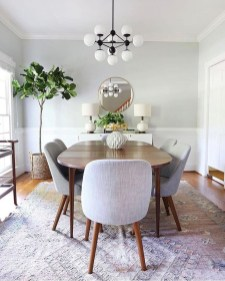 Unordinary Dining Room Design Ideas With Bohemian Style14
