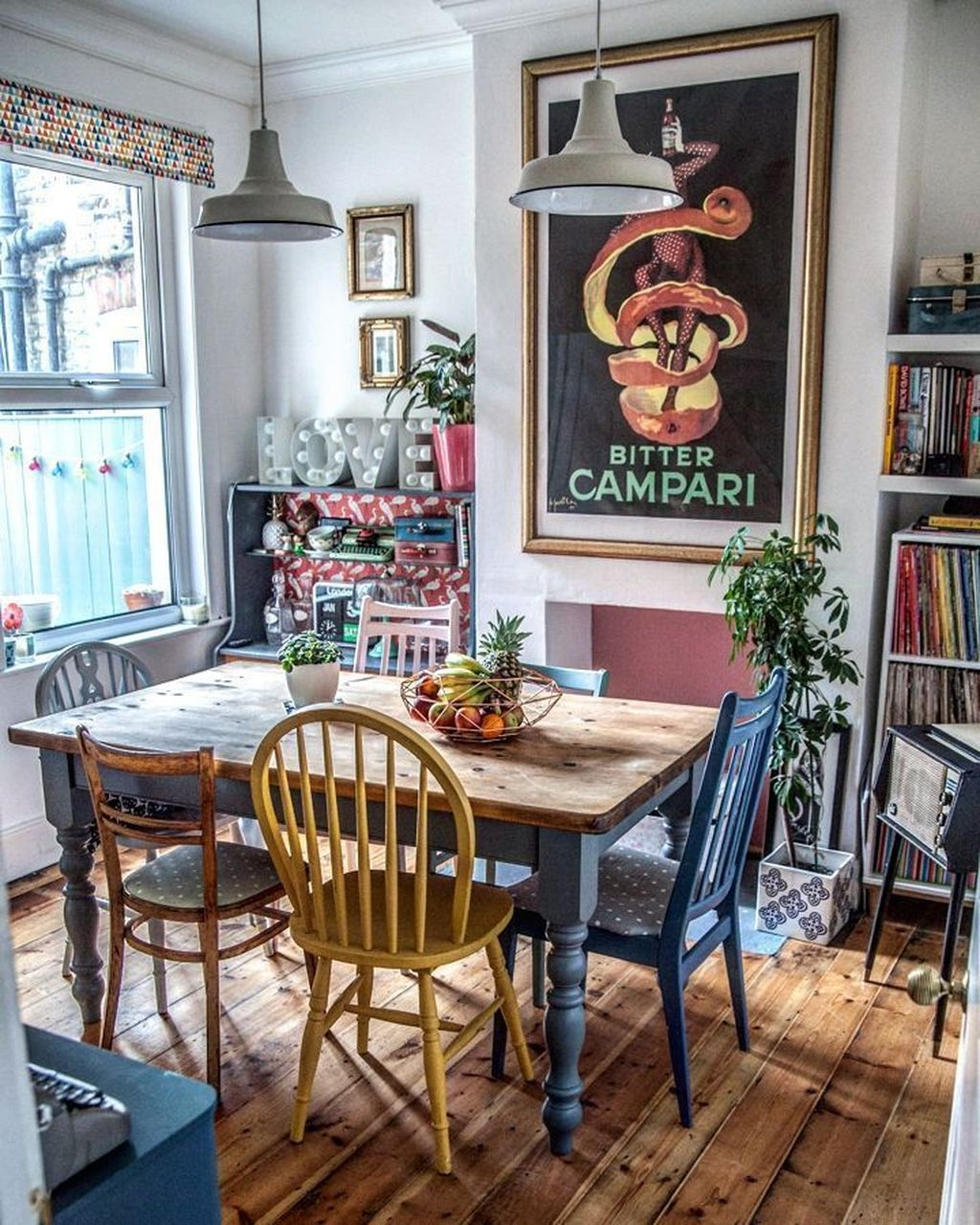 Unordinary Dining Room Design Ideas With Bohemian Style32