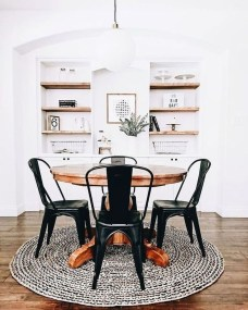 Unordinary Dining Room Design Ideas With Bohemian Style37