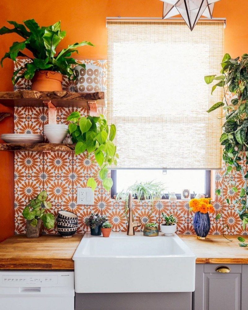 Unusual Bohemian Kitchen Decorations Ideas To Try04