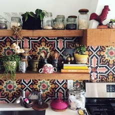 Unusual Bohemian Kitchen Decorations Ideas To Try24