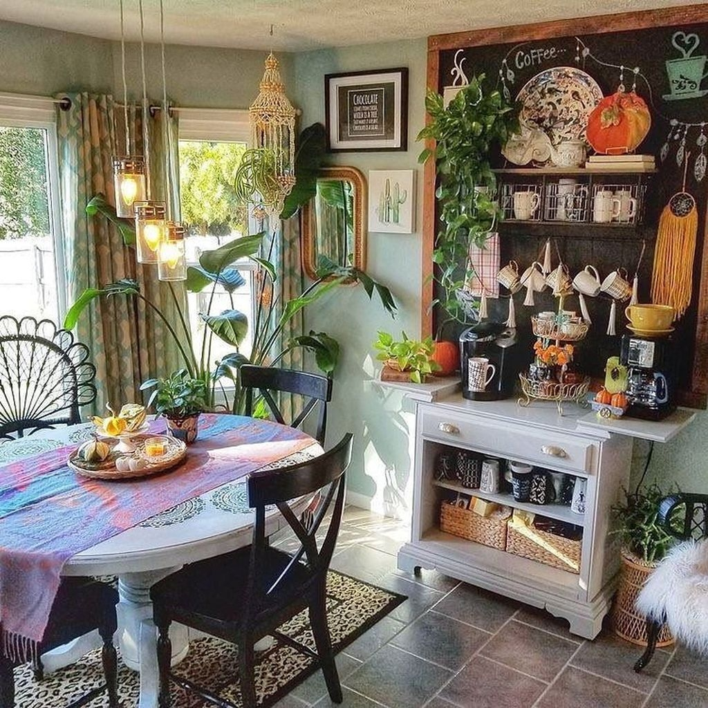 Unusual Bohemian Kitchen Decorations Ideas To Try32