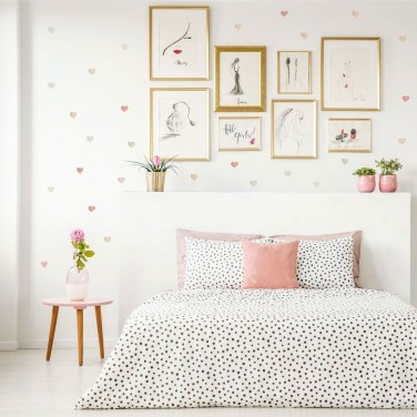 Vintage Bedroom Wall Decals Design Ideas To Try02