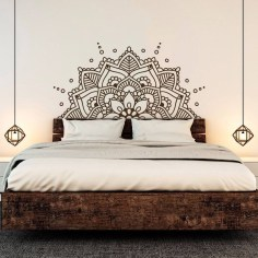 Vintage Bedroom Wall Decals Design Ideas To Try18