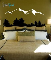 Vintage Bedroom Wall Decals Design Ideas To Try19